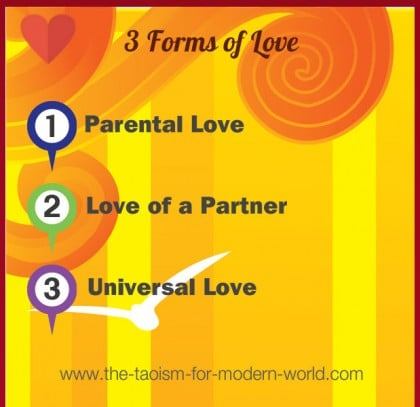 3 forms of Love in Taoism