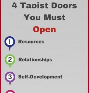 """How to Become Happy--4 Taoist Doorways"""
