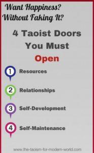 4 doors of happiness through taoism