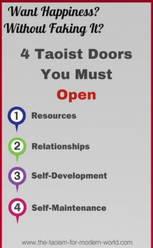 4 doors of happiness through taoism